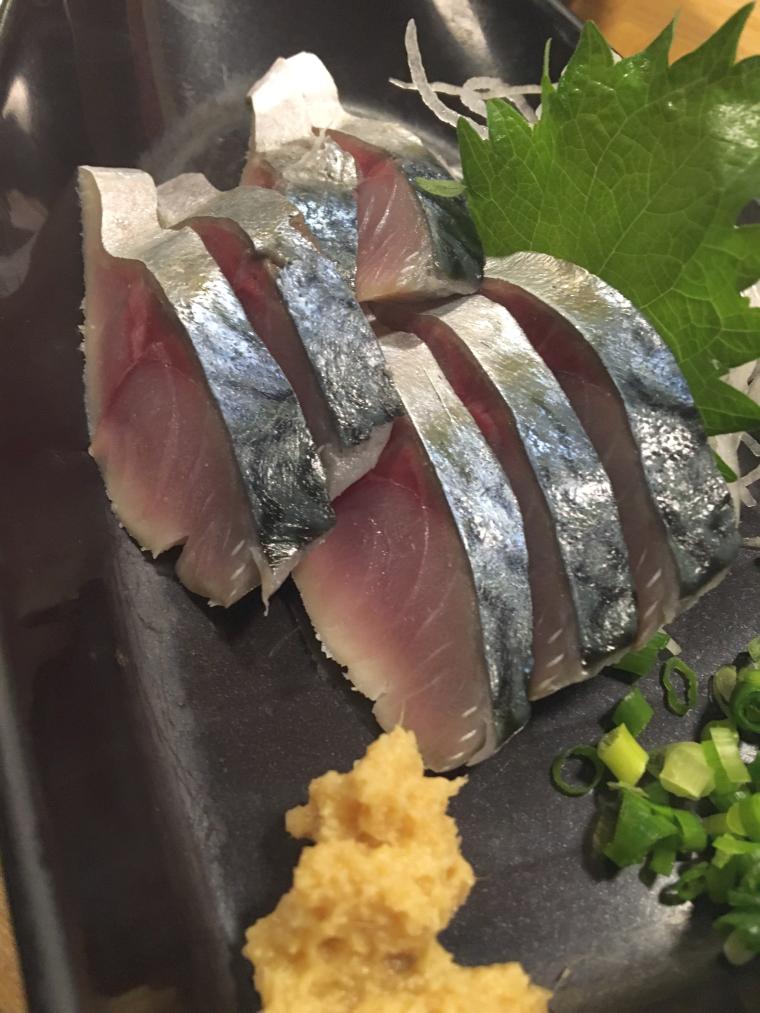 西海岸(アメリカではないです)で獲れたサバを使ったシメ鯖。
