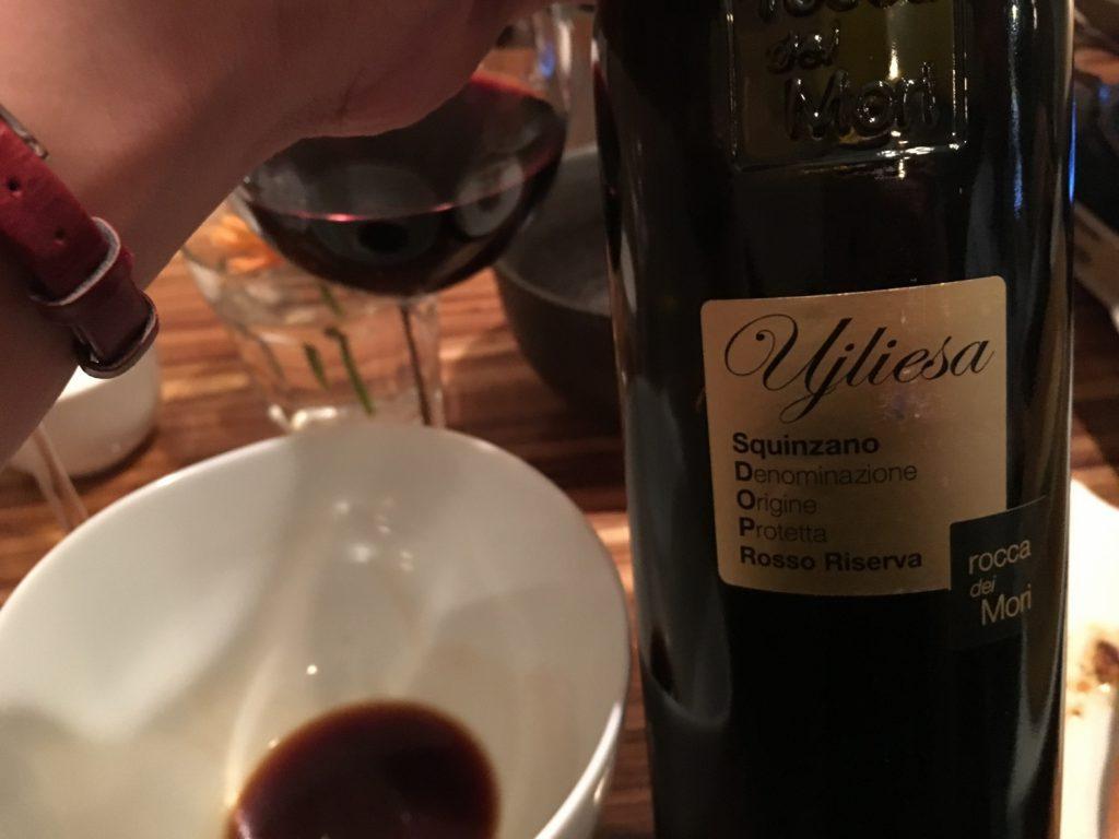 ワインは赤で(白も飲んだけど)