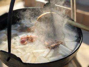 良きタイミングで味噌を投入。